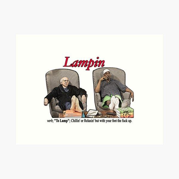Lampin - Curb Your Enthusiasm Art Print