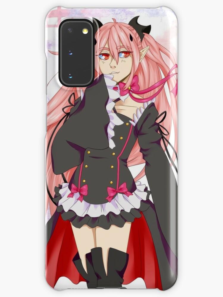 Krul Tepes Owari No Seraph Case Skin For Samsung Galaxy By Mikashields Redbubble ~ krul tepes ~ one women army ~ amv ~. redbubble