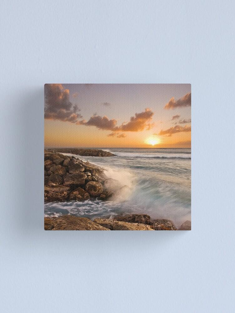 Alternate view of [   ] Sunset Splash Canvas Print
