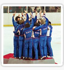 1980 USA Olympic Gold Sticker
