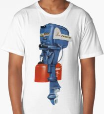 Evinrude! The Engine of Champions!  Long T-Shirt