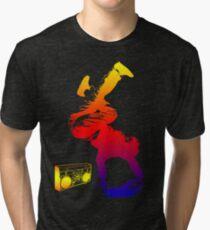 bboy colored Tri-blend T-Shirt