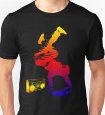 bboy colored Unisex T-Shirt