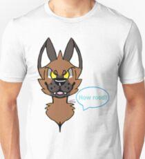 Rood Hyena Channel Art - T Shirt Unisex T-Shirt
