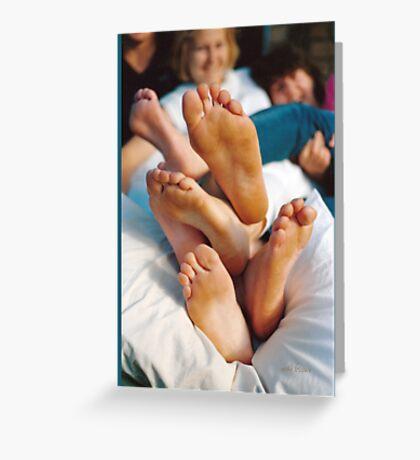 Feet Salad © Vicki Ferrari Greeting Card