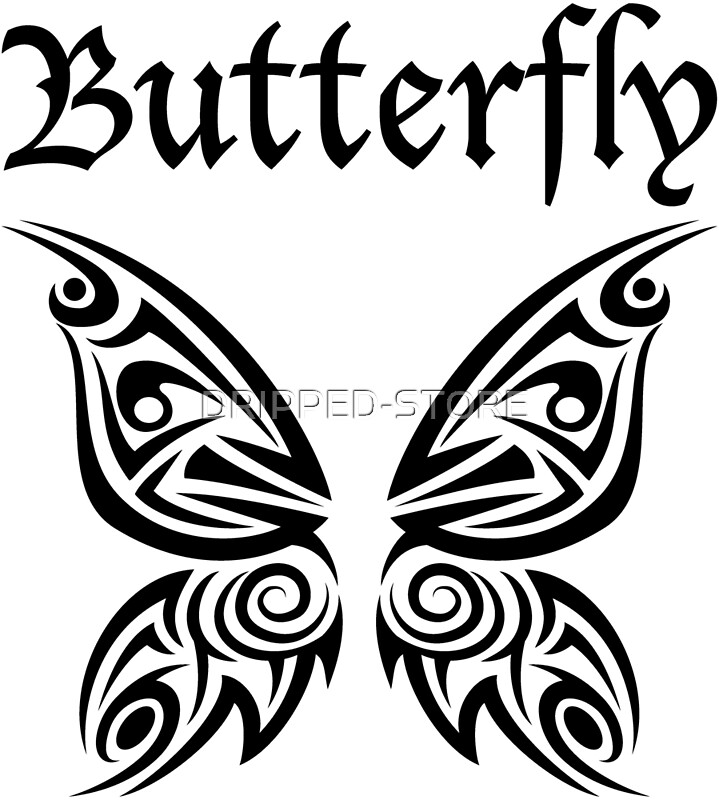tribal butterfly tattoos - 626×626