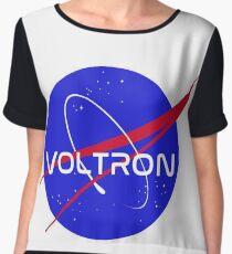 voltron nasa logo Chiffon Top