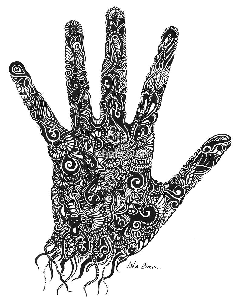 Handprint by ishabrown