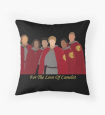 Merlin for the love of camelot Throw Pillow