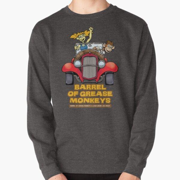 Barrel of Grease Monkeys Barrel Roadster Pullover Sweatshirt