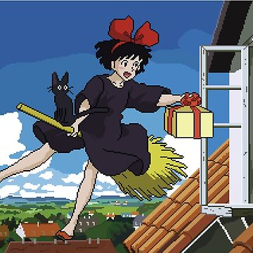 Kiki's 8bit Delivery Service by ZoeTwoDots