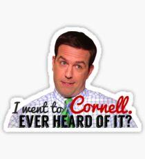 Andy Bernard Cornell Sticker