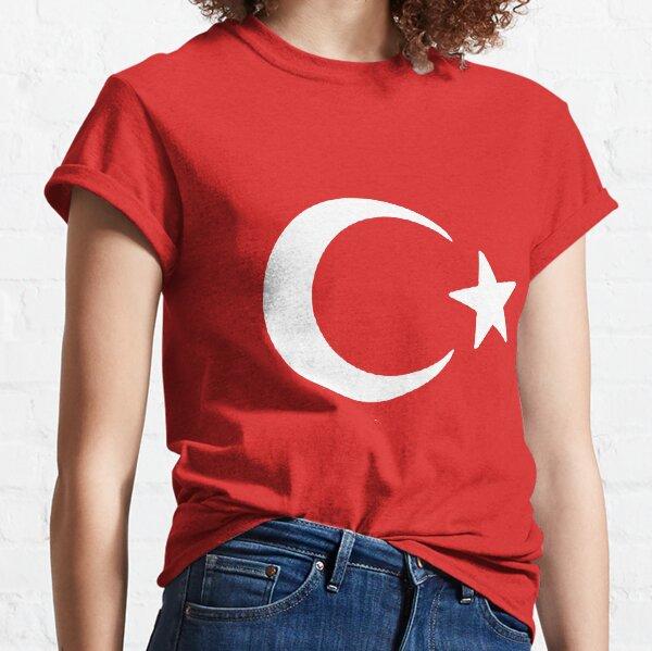 Türkei Türkiye Turkey Turkish Flag  Long Sleeve T-Shirt