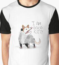 """ICH BIN GUT KITTY"" Design Grafik T-Shirt"