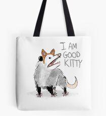 """ICH BIN GUT KITTY"" Design Tote Bag"