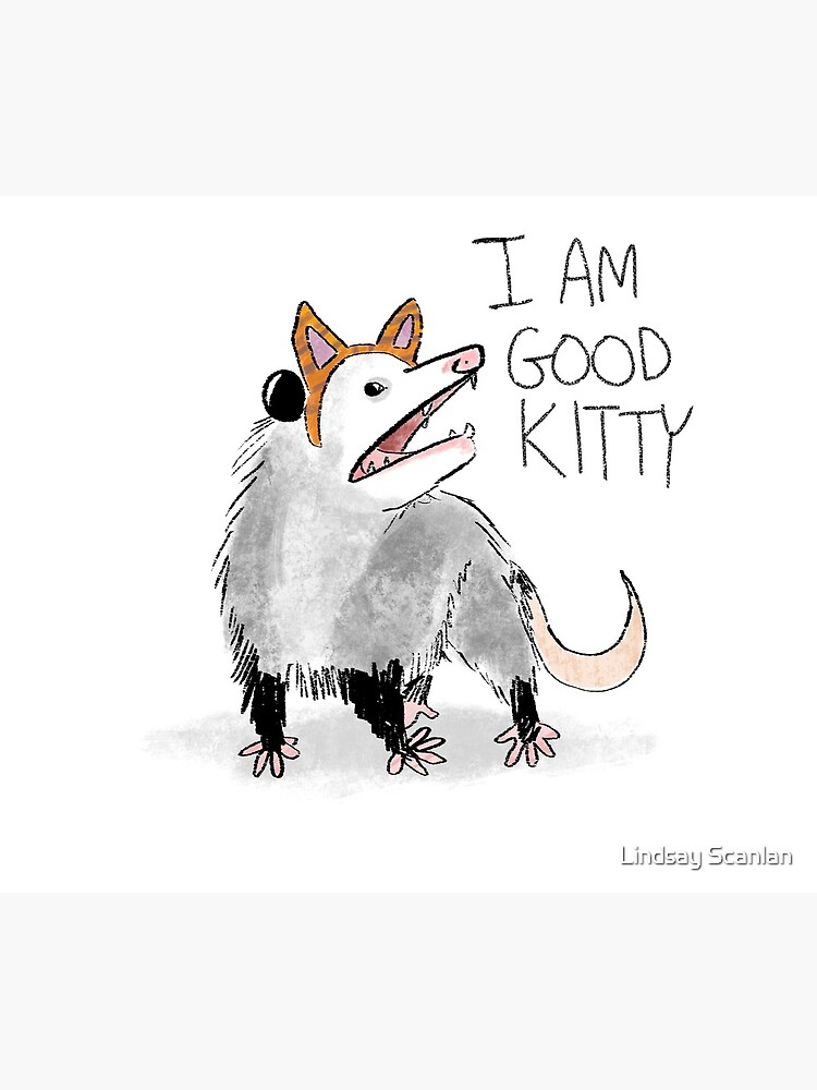 """I AM GOOD KITTY"" Design by Cinnabees"