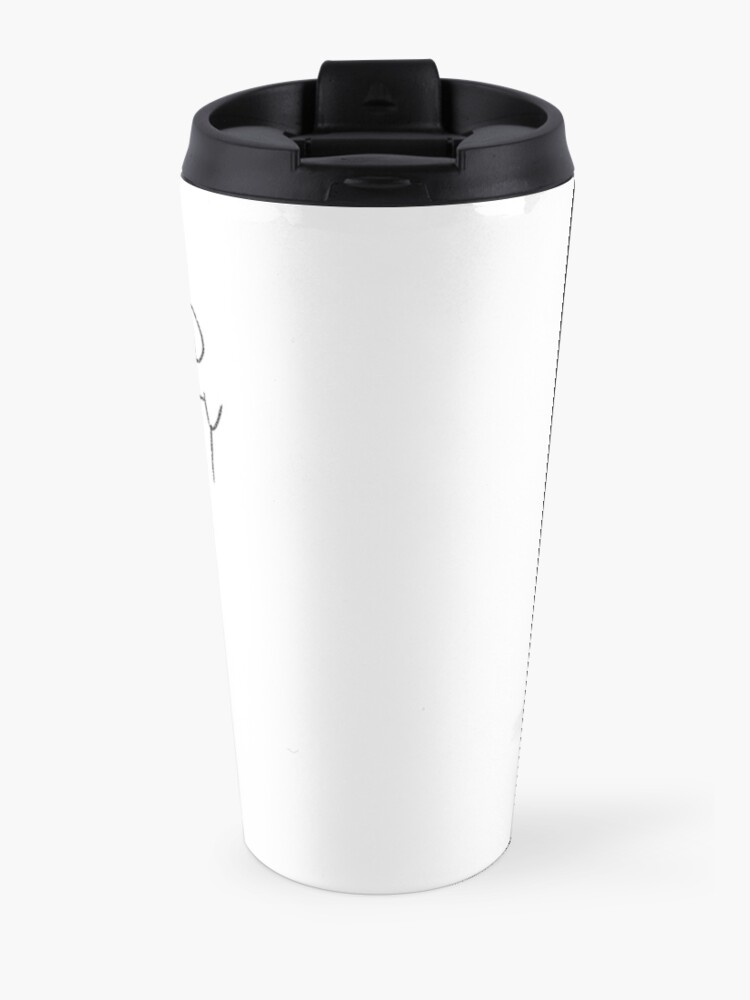 "Alternate view of ""I AM GOOD KITTY"" Design Travel Mug"