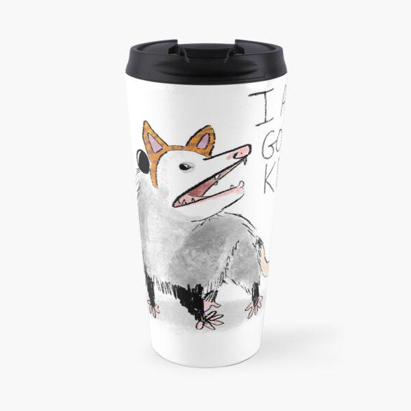 """I AM GOOD KITTY"" Design Travel Mug"