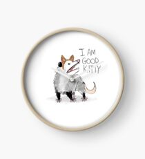 "Reloj Diseño ""I AM GOOD KITTY"""