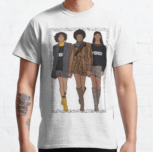 Ilustración de moda Fendi A / W '18 Camiseta clásica