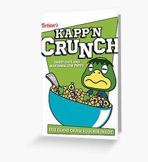Kapp'n Crunch! Greeting Card