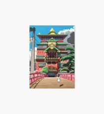 Spirited Away 8bit Art Board