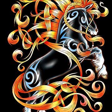 Celtic Horse by Elmarie