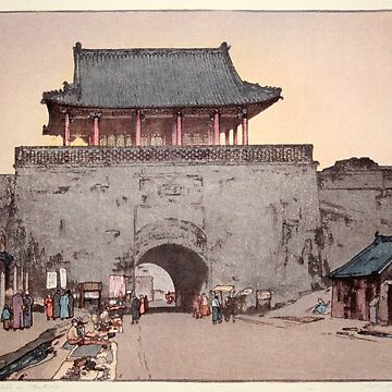 Hiroshi Yoshida - Daiden Gate by CoppedFlack