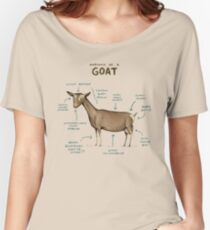 Anatomy of a Goat Women's Relaxed Fit T-Shirt
