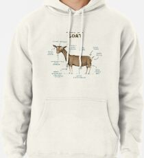 Anatomy of a Goat Pullover Hoodie