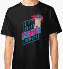 Eat. Sleep. WIGGLE. Repeat. - Monster Hunter Design Classic T-Shirt