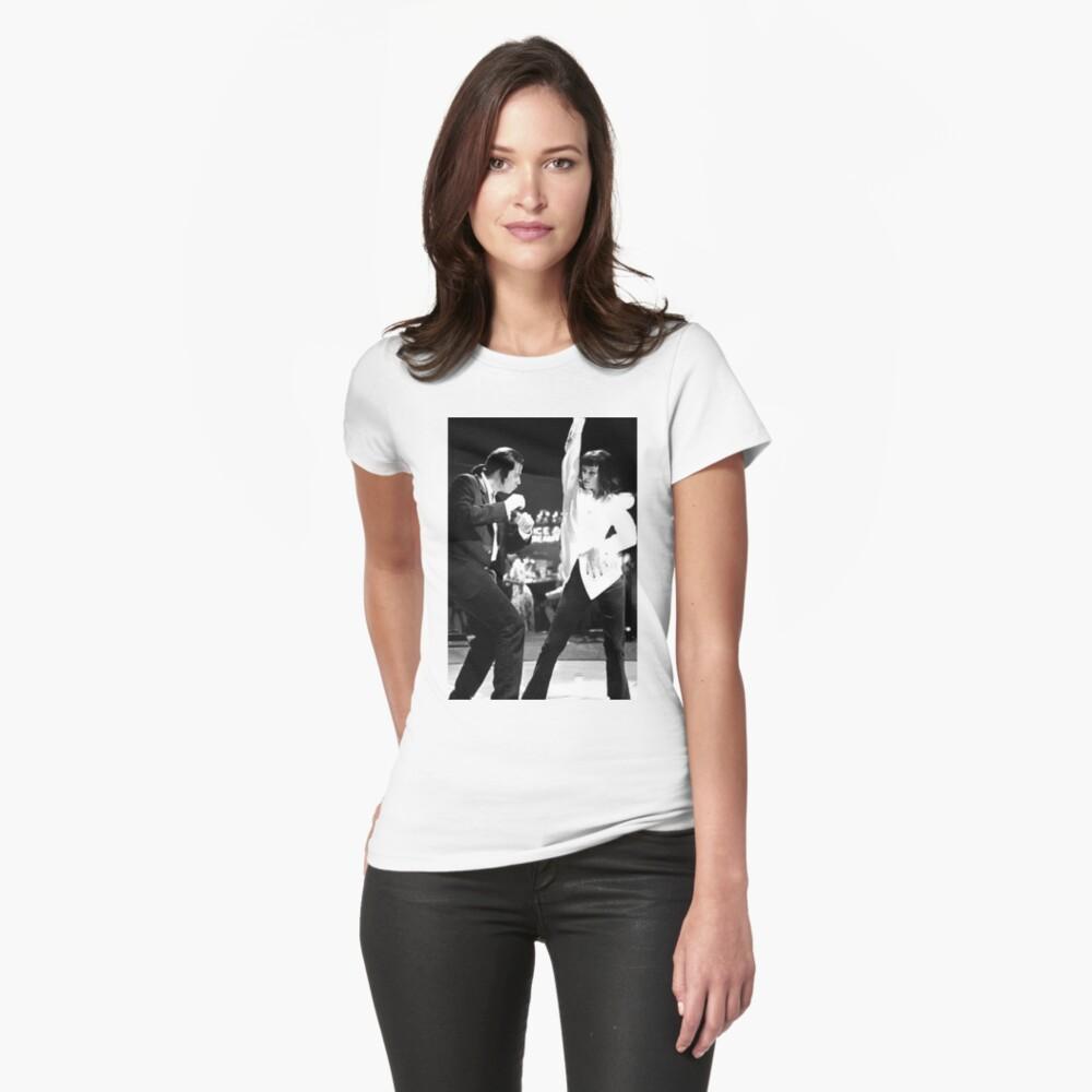 PULP FICTION DANCE Tailliertes T-Shirt