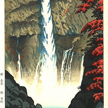 Kasamatsu Shiro - Kegon Falls at Nikko by CoppedFlack