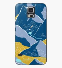 Say goodnight to the mountains Case/Skin for Samsung Galaxy
