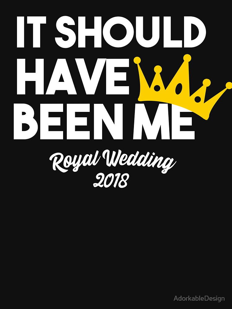 It Should Have Been Me Royal Wedding 2018 Watch Party by AdorkableDesign