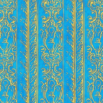 Regal Decor Design Blue by bonnie-follett