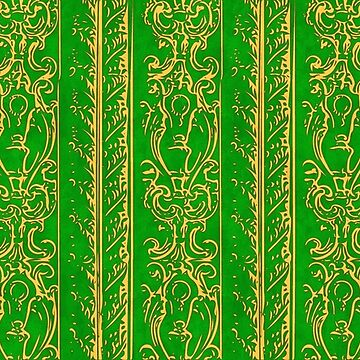 Regal Decor Design Green by bonnie-follett
