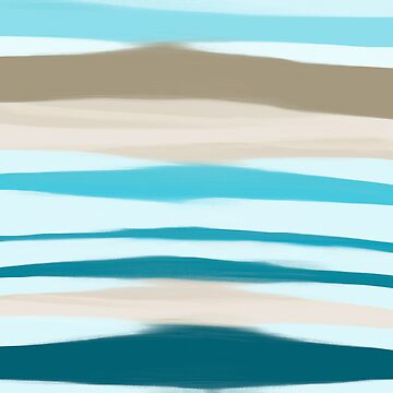 Sandbanks by oceanblueart