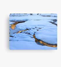 Mounds and Mirrors Metal Print