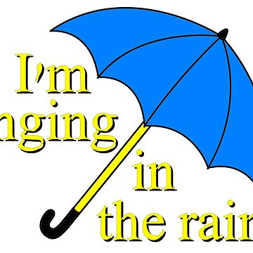 I'm singin' in the rain by River-Pond