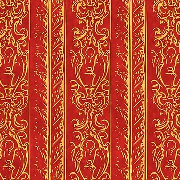 Regal Decor Design Red by bonnie-follett