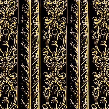 Regal Decor Design Black by bonnie-follett
