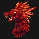 Red stripe dragon by Astyrra