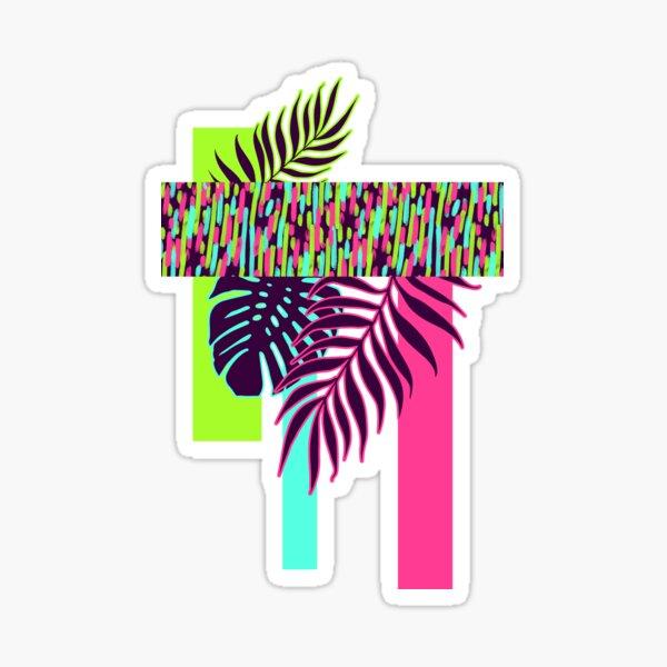 Neon Exotic #redbubble #tropical Sticker