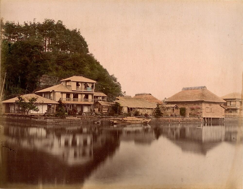 Tea House at Kanasawa by Fletchsan