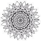 Totem Mandala Tangle by Vickie Simons
