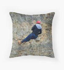 A Leap of Faith Throw Pillow