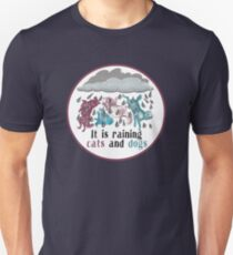 Raining Cats and Dogs Unisex T-Shirt