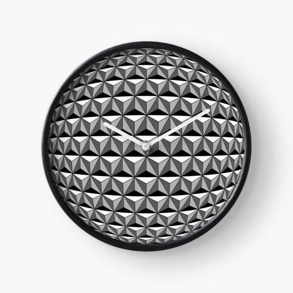 Spaceship Earth Geosphere Clock
