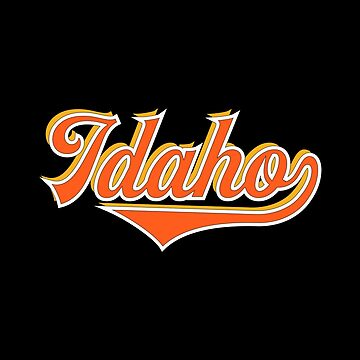 Idaho State USA - Vintage Sports Typography by Urban-Zone